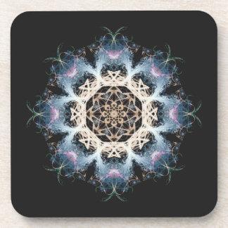 Woven Cosmic Halon V 1  Cork Coaster Set