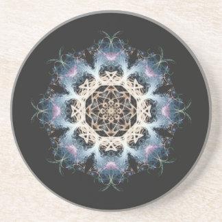 Woven Cosmic Halon V 1  Sandstone Coaster