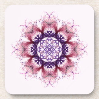 Woven Cosmic Halon V 2  Cork Coaster Set