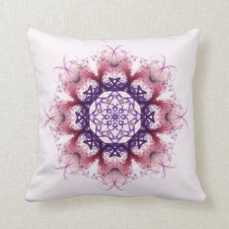 Woven Cosmic Halon V 2  Throw Pillow