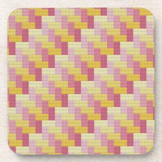 Woven Cross Stitch Coasters