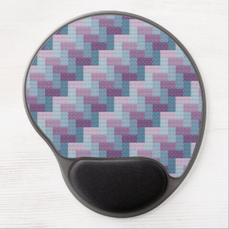 Woven Cross Stitch Gel Mouse Pad