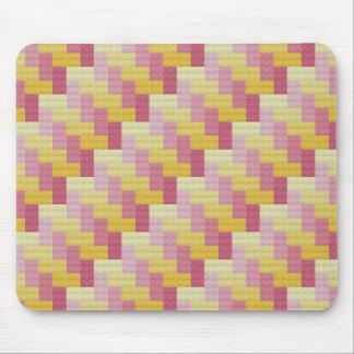 Woven Cross Stitch Mouse Pad