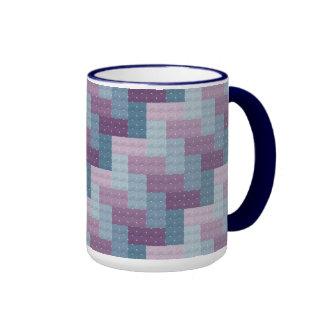 Woven Cross Stitch Mug