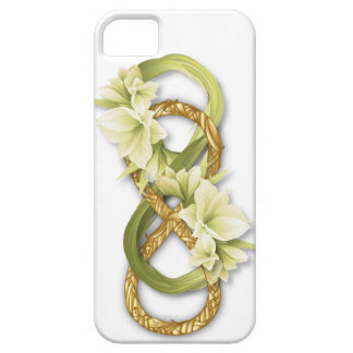 Woven Double Infinity Gold & Cowlily - iPhone 1 iPhone SE/5/5s Case