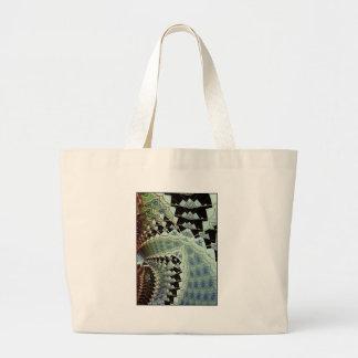 woven eyes large tote bag