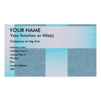 Woven fabric texture shades of blue business card