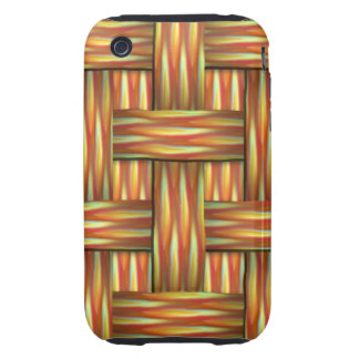 Woven Fire iPhone 3 Tough Cover