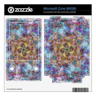 Woven in Time Zune Decal