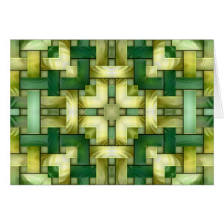 Woven Jade Card