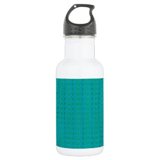 Woven Lagoon Patterned Stainless Steel Water Bottle