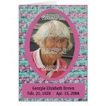 Woven Memories Memorial card #1