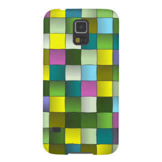 Woven Mosaic Pattern Galaxy S5 Cover