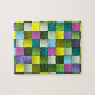 Woven Mosaic Pattern Jigsaw Puzzle