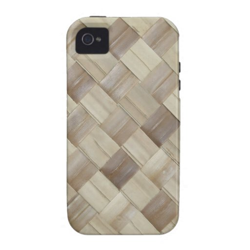 Woven Palm Matting iPhone 4/4S Covers