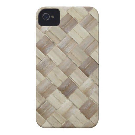 Woven Palm Matting iPhone 4 Case-Mate Case