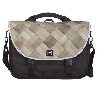 Woven Palm Matting Laptop Bag