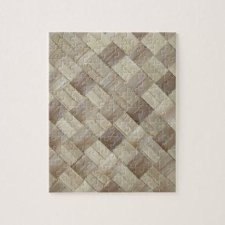 Woven Palm Matting Jigsaw Puzzle