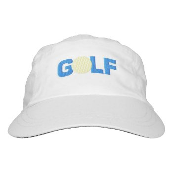 Woven Performance Hat  Golf by CREATIVEforBUSINESS at Zazzle