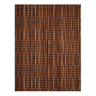 Woven Rattan Post Cards
