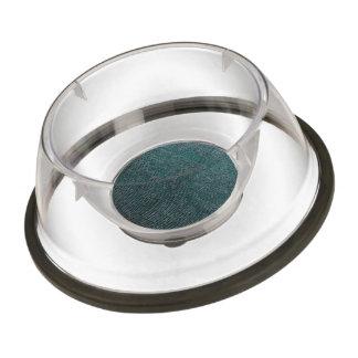 woven structure aqua pet bowl
