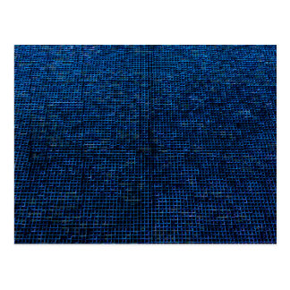 woven structure, blue post cards