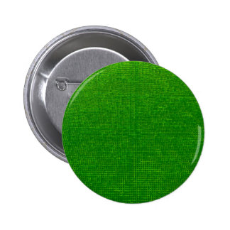 woven structure green 2 inch round button