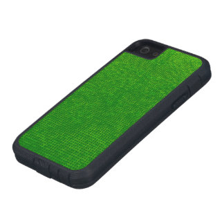 woven structure green case for iPhone SE/5/5s