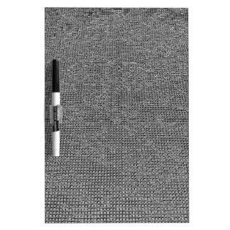 woven structure ,metal silver Dry-Erase whiteboards
