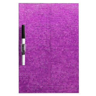 woven structure neon pink Dry-Erase whiteboard