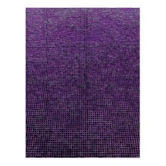 woven structure,purple postcard