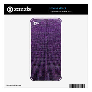 woven structure,purple decals for the iPhone 4S