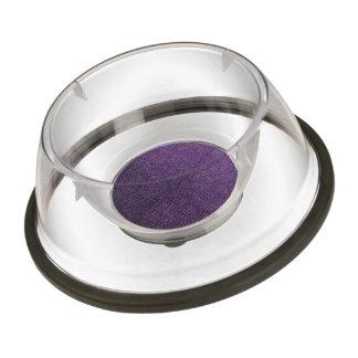 woven structure purple pet bowl