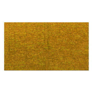 woven structure yellow business card templates