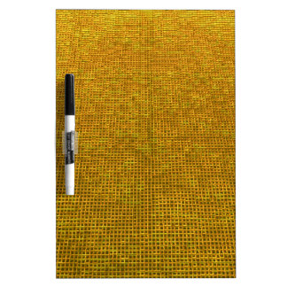 woven structure yellow Dry-Erase whiteboards