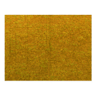 woven structure yellow post cards