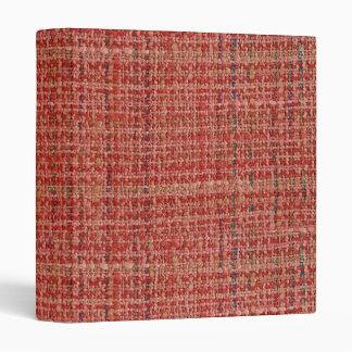"Woven Texture 1"" Photo Album 3 Ring Binder"