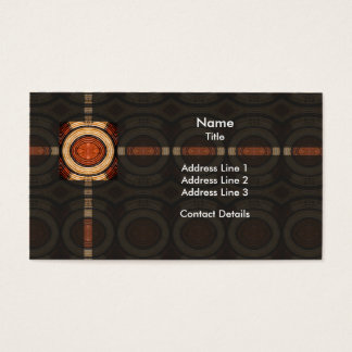 Woven Trivet Pattern Business Card