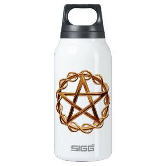 Woven Wicca Pentagram Insulated Water Bottle