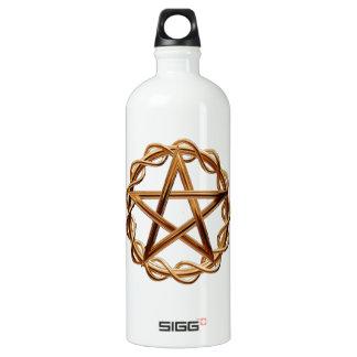 Woven Wicca Pentagram Water Bottle