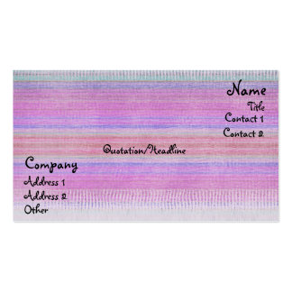 Woven Wonders 2 Business Card