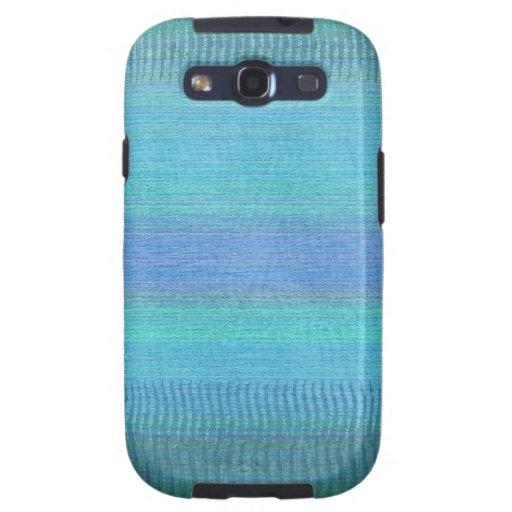 Woven Wonders Blue Samsung Galaxy SIII Cases