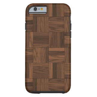Woven Wood Tough iPhone 6 Case