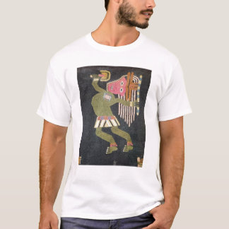 Woven wool dancer with baton, Paracas tribe T-Shirt