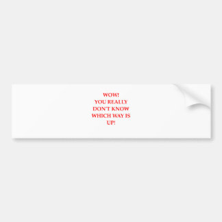 WOW1.png Bumper Stickers