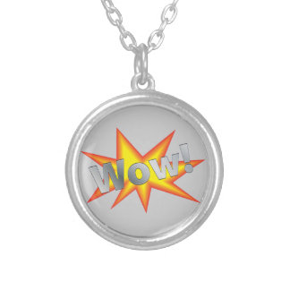Wow-20110531 WOW EXPRESSIONS CARTOON COMIC BOOK W Pendant