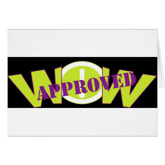 wow APPROVED black Card