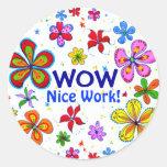 Wow! Classroom Sticker