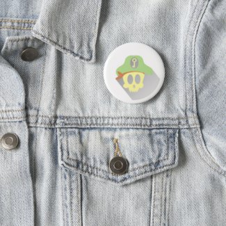 wow collector pinback button