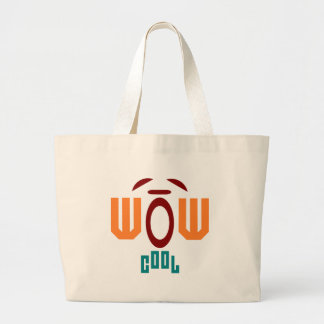 wow-cool large tote bag